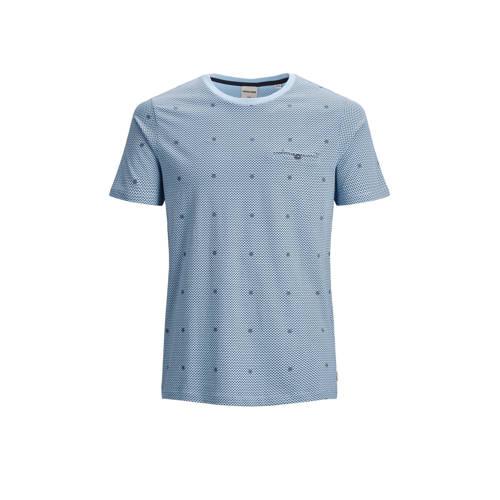 JACK & JONES CORE T-shirt met all over print b