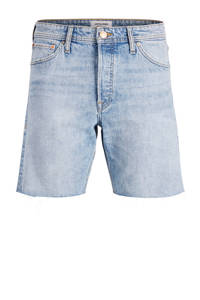 JACK & JONES JEANS INTELLIGENCE slim fit jeans short blue denim, Blue denim