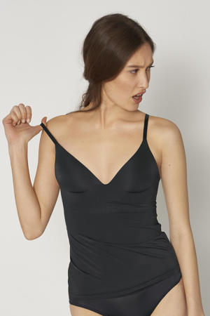 bh hemd zonder beugel zwart