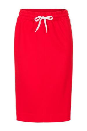 rok met contrastbies rood