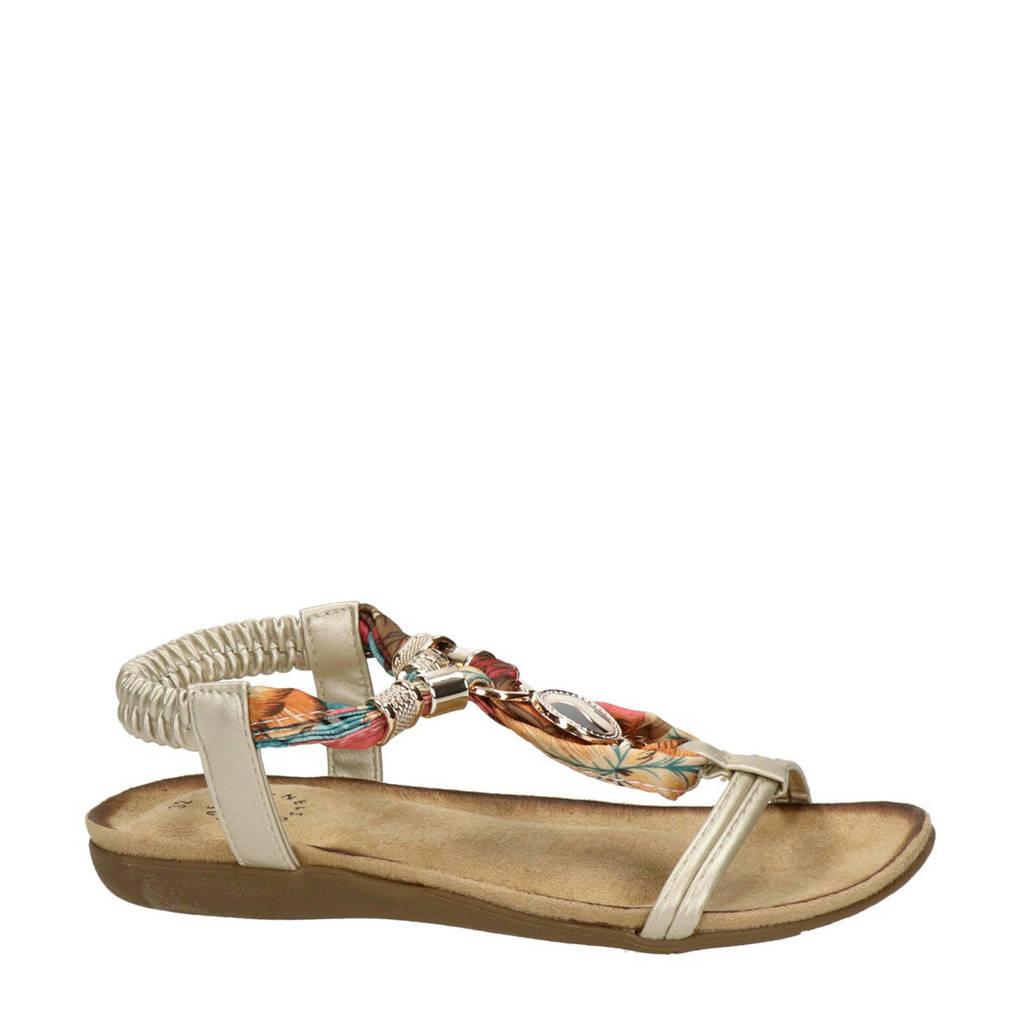 Nelson Kids   sandalen goud/multi