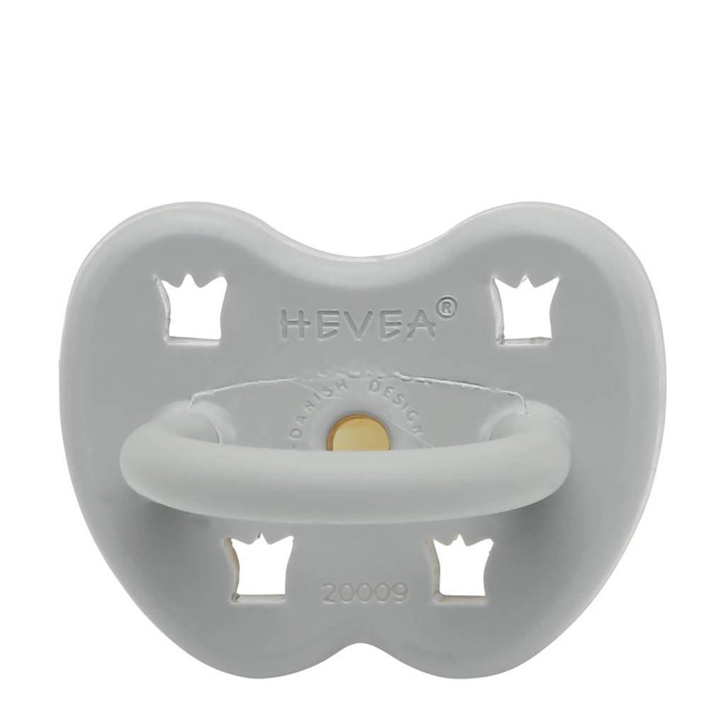 Hevea speen orthodontisch Gorgeous Grey 3-36 mnd, Grijs