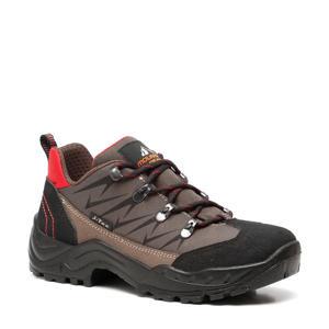 wandelschoenen bruin/rood