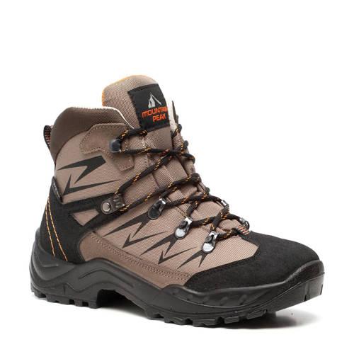 Scapino Mountain Peak wandelschoenen beige/oranje
