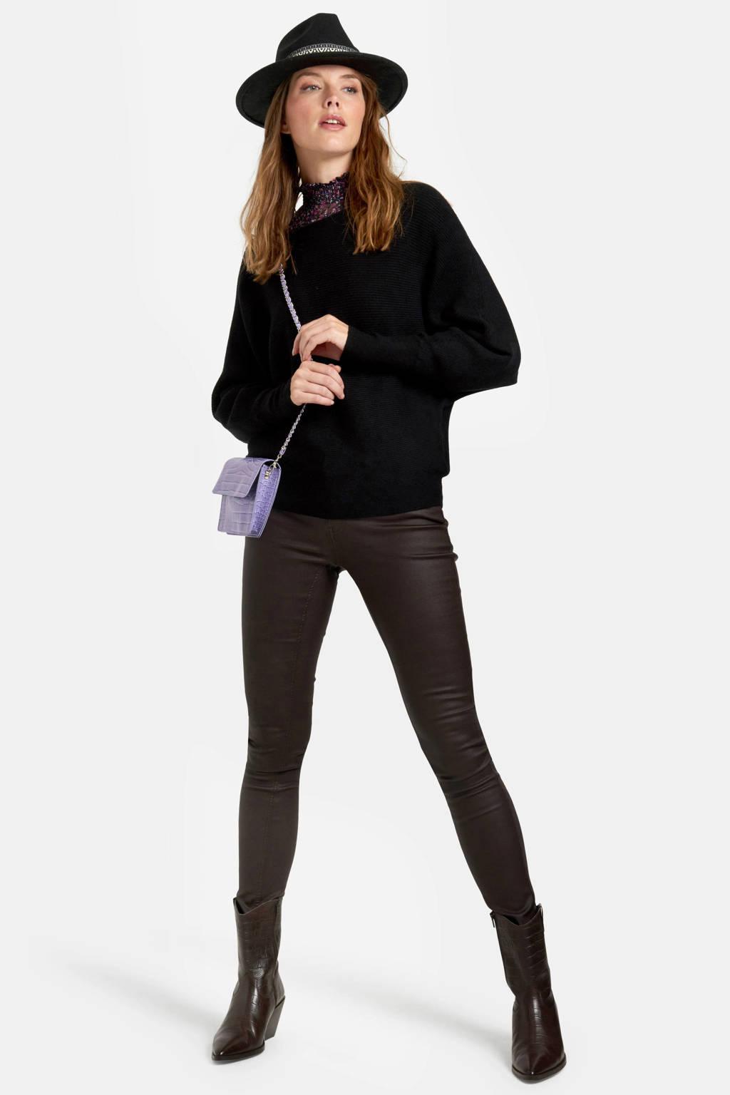 Eksept by Shoeby fijngebreide trui zwart, Zwart