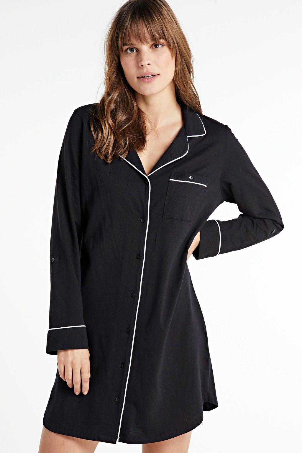 Dreamcovers nachthemd zwart, Zwart