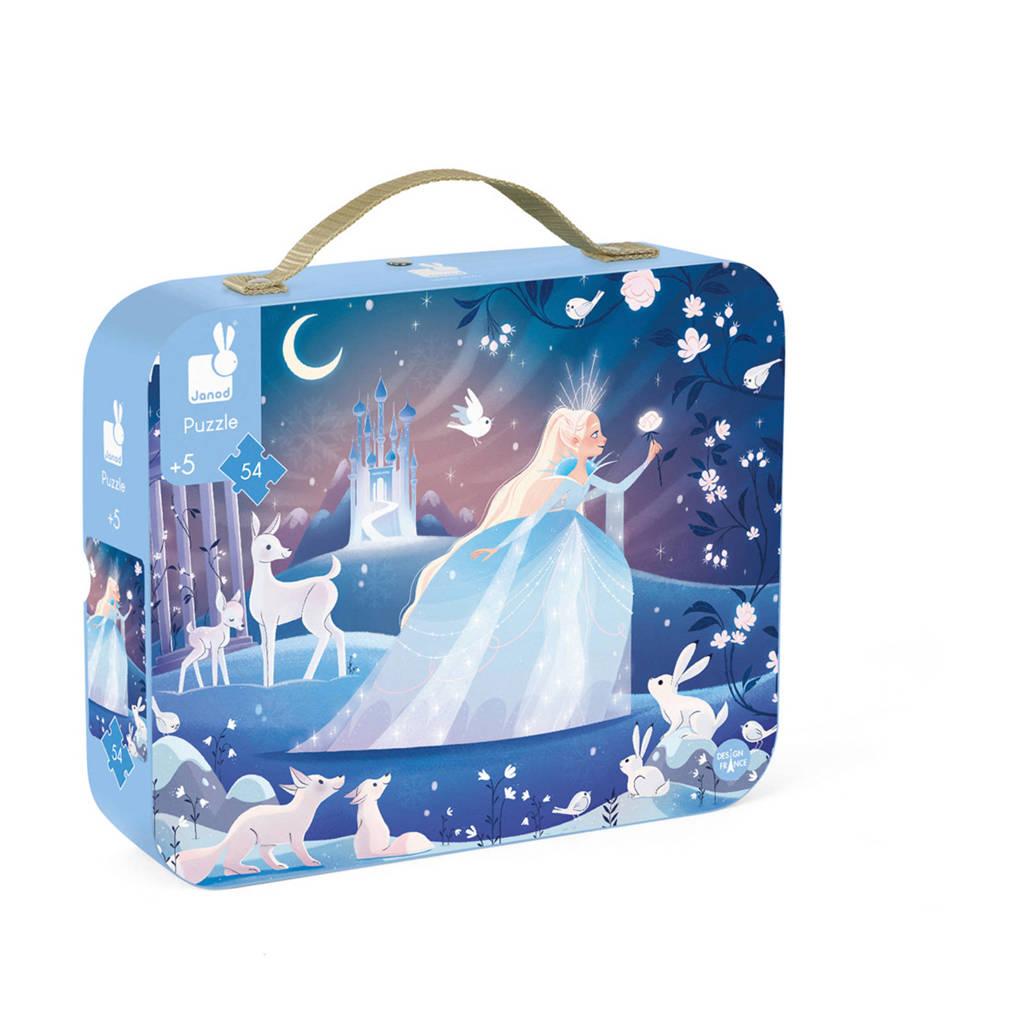 Janod Puzzel -  De Magie van het ijs  vloerpuzzel 54 stukjes