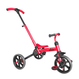 Yvelo Flippa - driewieler rood