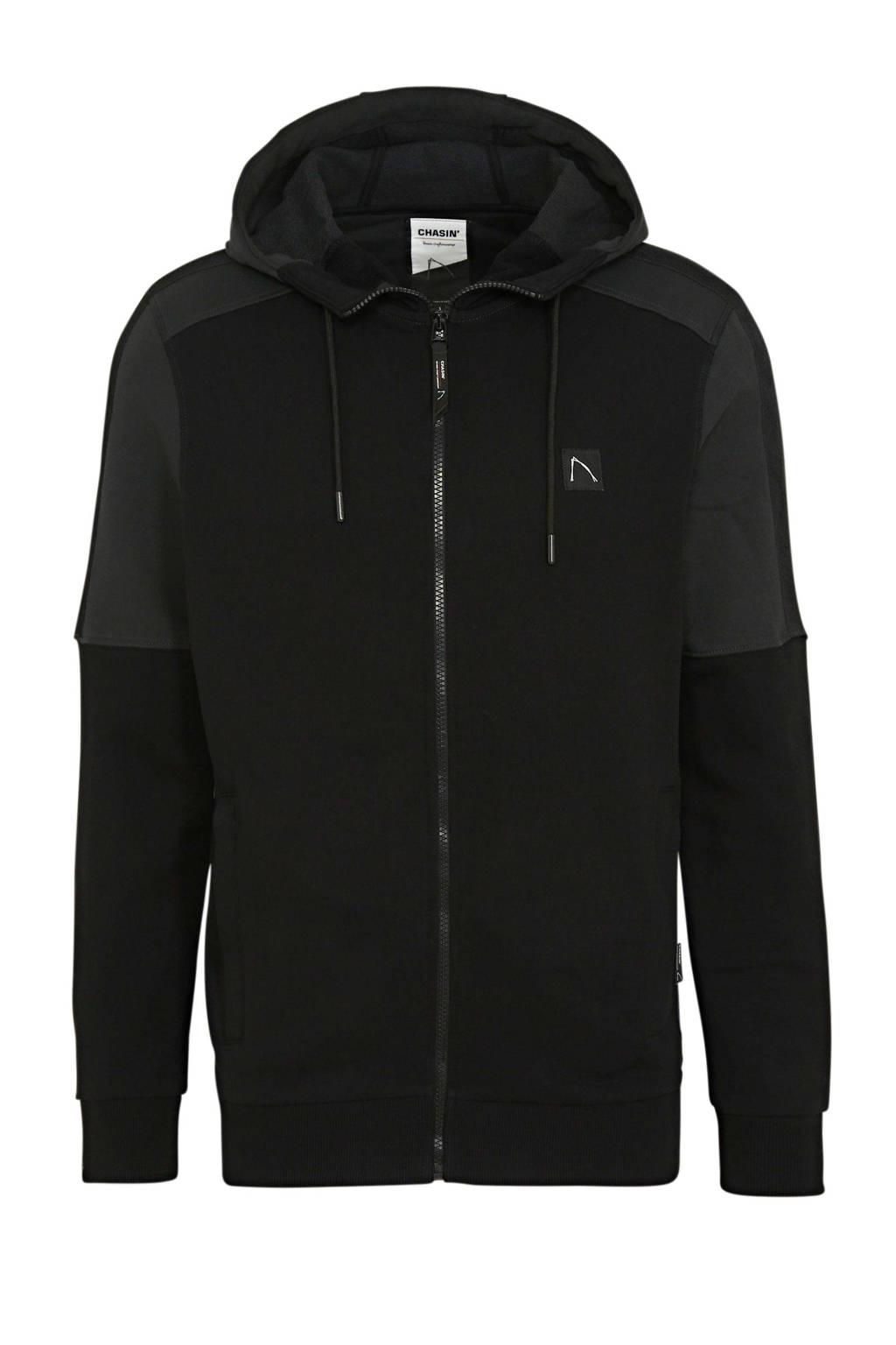 Chasin' vest zwart, Zwart