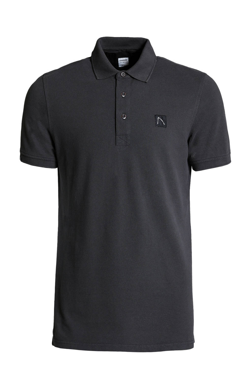 Chasin' regular fit polo antraciet, Antraciet