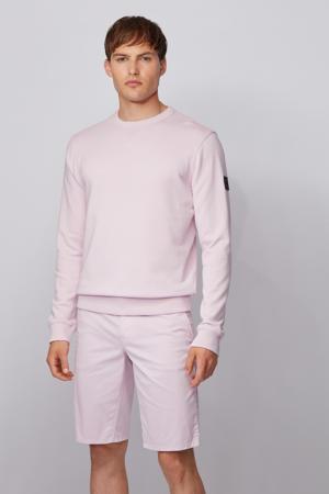 gebreide sweater roze