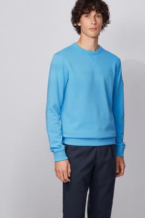 gebreide sweater blauw