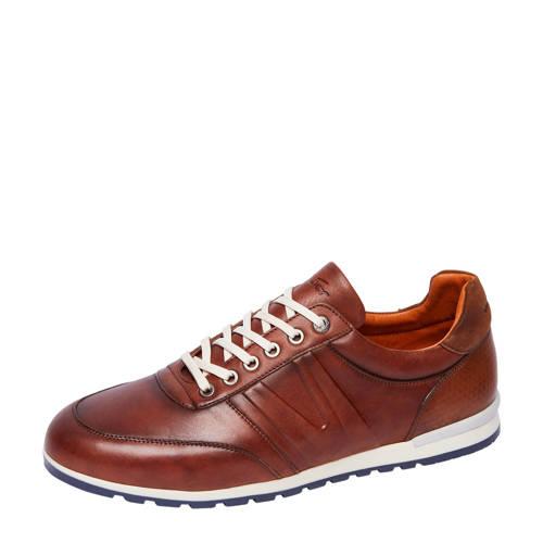 Van Lier Anzano nubuck sneakers cognac