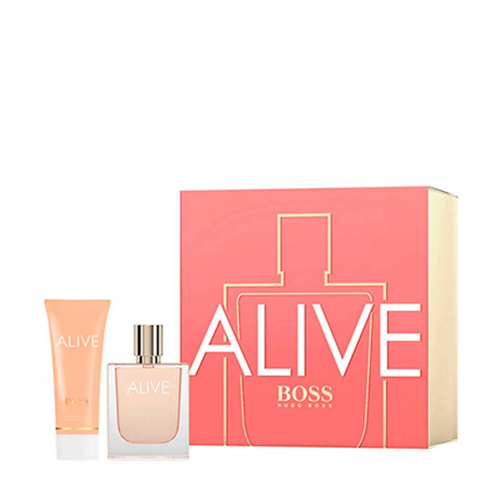 BOSS geschenkset eau de parfum + bodylotion - 125 ml