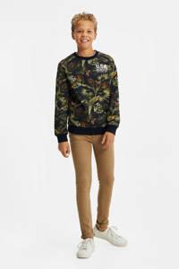 WE Fashion sweater met bladprint multi, Multi