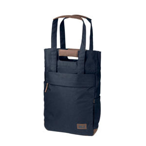 Piccadilly shopper donkerblauw