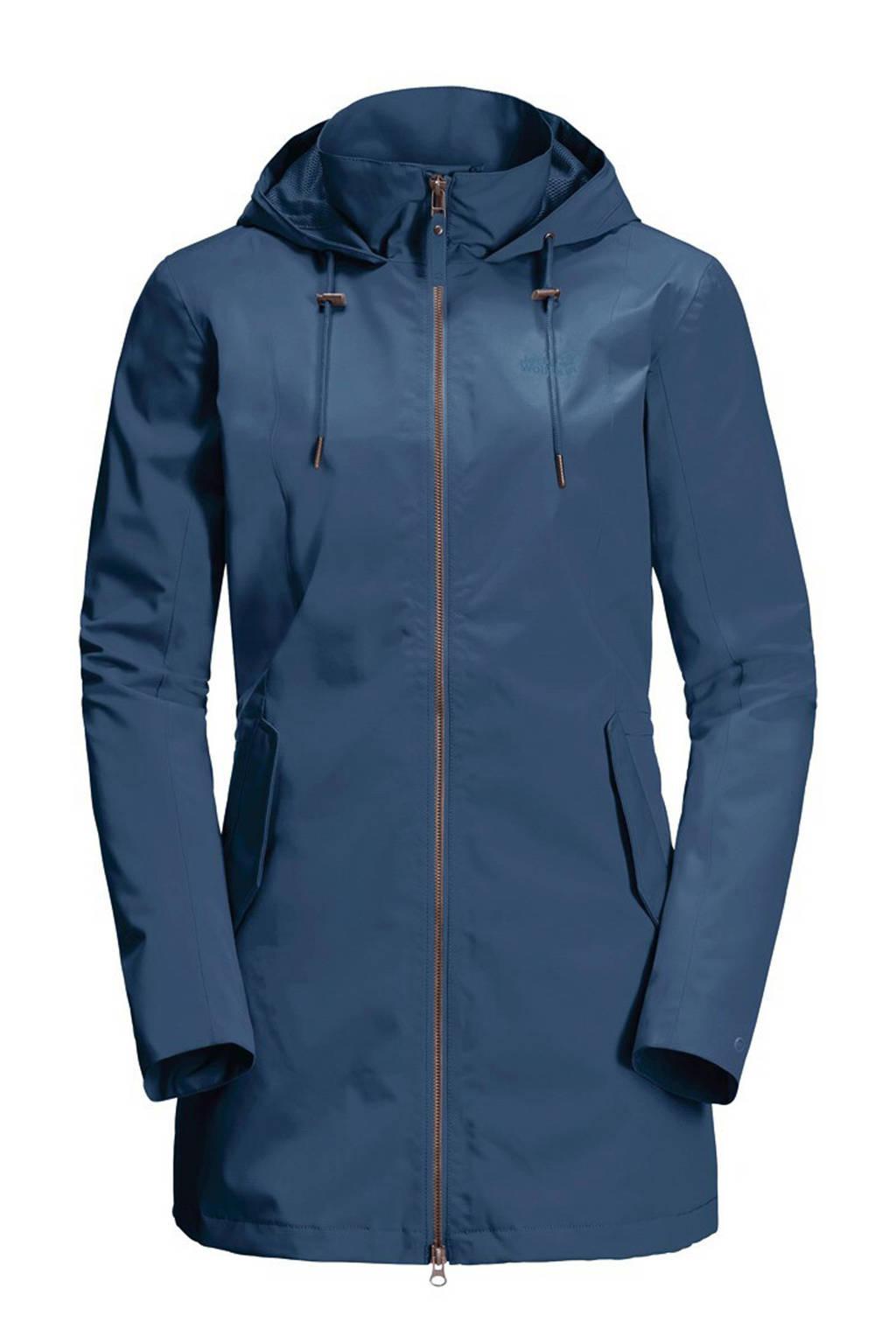 Jack Wolfskin outdoor jas Cameia blauw, Blauw