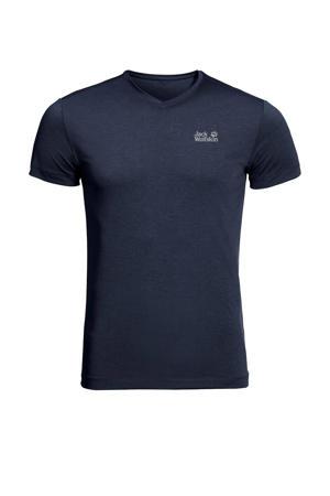 outdoor T-shirt JWP donkerblauw