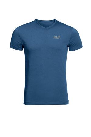 outdoor T-shirt JWP blauw