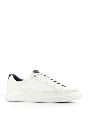 South Bay 1108959 leren sneakers wit/blauw