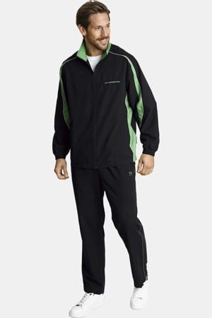 Plus Size trainingspak Plus Size Erik zwart/groen