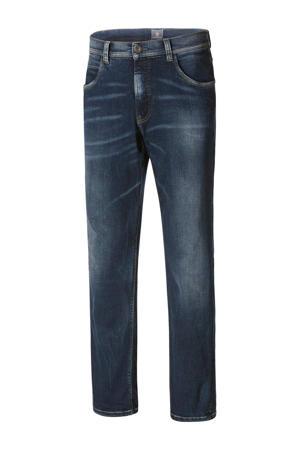 straight fit jeans Plus Size WICKIE dark denim