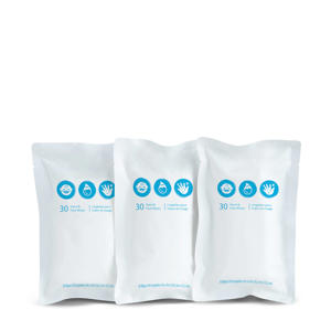 Brica clean to go wipes (refill pack)