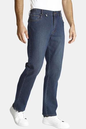 straight fit jeans Plus Size HUTO dark denim