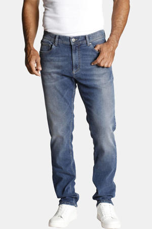 tapered fit jeans Wallner stonewashed