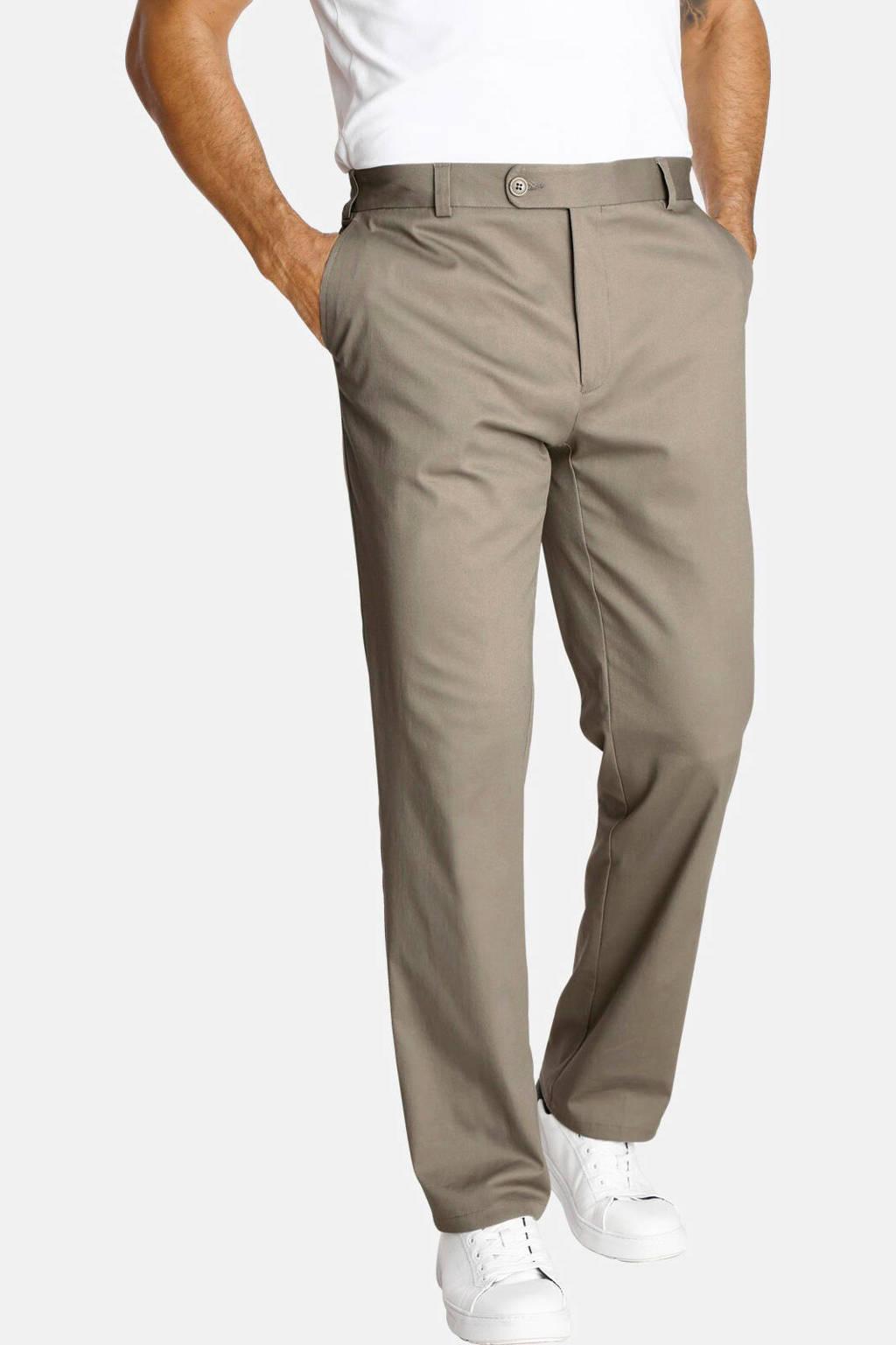Jan Vanderstorm loose fit chino Plus Size DEEKE beige, Beige
