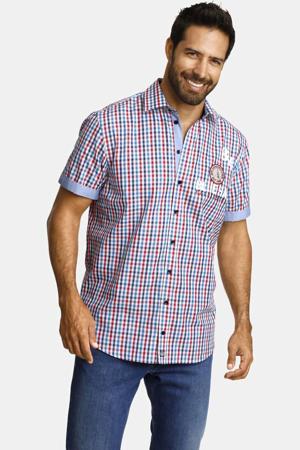 geruit loose fit overhemd Plus Size TORGEIR multi