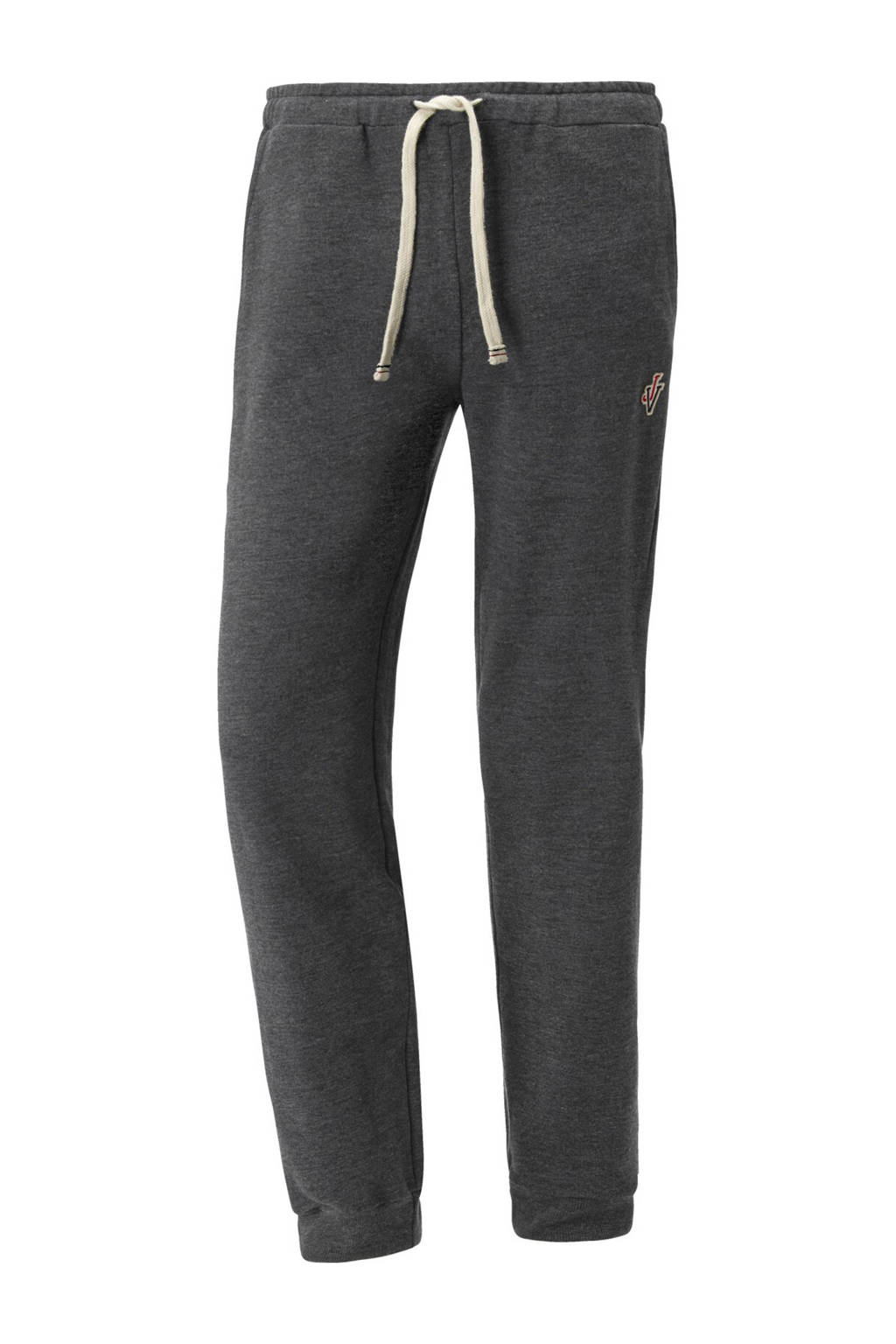 Jan Vanderstorm loose fit joggingbroek Plus Size EMORY grijs, Grijs