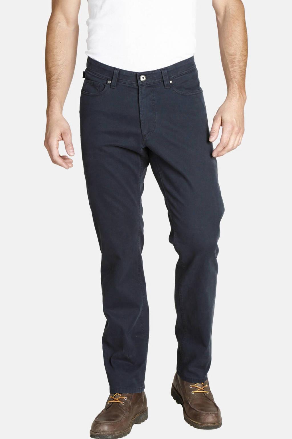 Jan Vanderstorm straight fit broek Plus Size Balder donkerblauw, Donkerblauw
