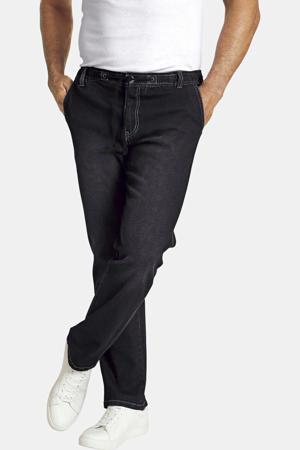 straight fit jeans Vertti zwart