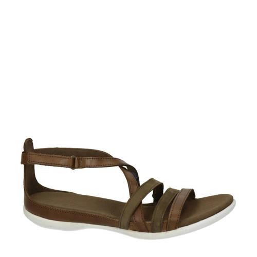 Ecco Summer leren sandalen bruin