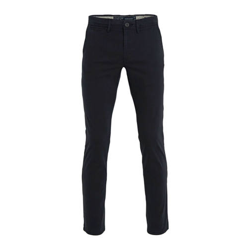C&A Canda regular fit chino donkerblauw