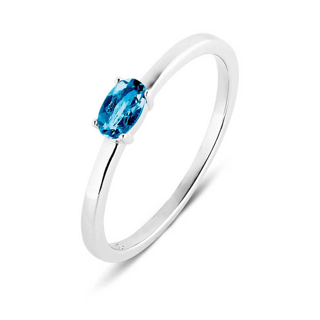 Parte di Me ring PDM133030 zilver/blauw, Zilver/blauw