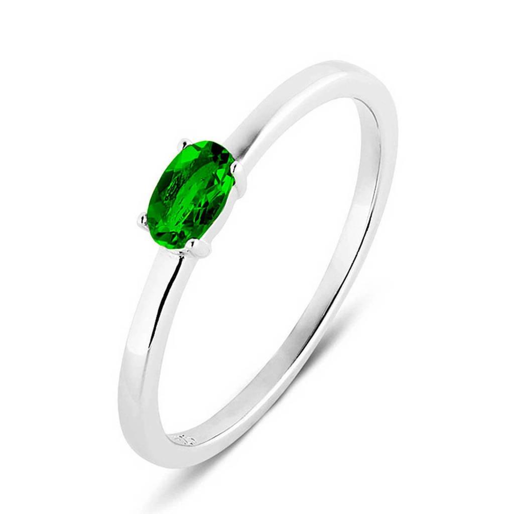 Parte di Me ring PDM1133031 zilver/groen, Zilver/groen