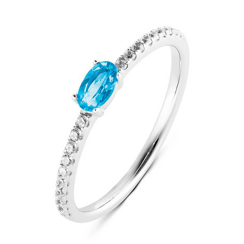 Parte di Me ring PDM133026 zilver/blauw, Zilver/blauw