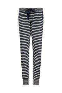 Charlie Choe gestreepte pyjamabroek donkerblauw/wit, Donkerblauw/wit