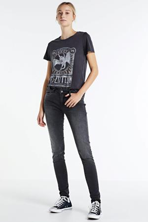 T-shirt Nate van biologisch katoen zwart