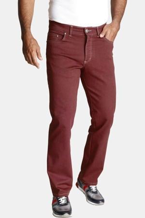 regular fit broek Plus Size GUNNAR donkerrood