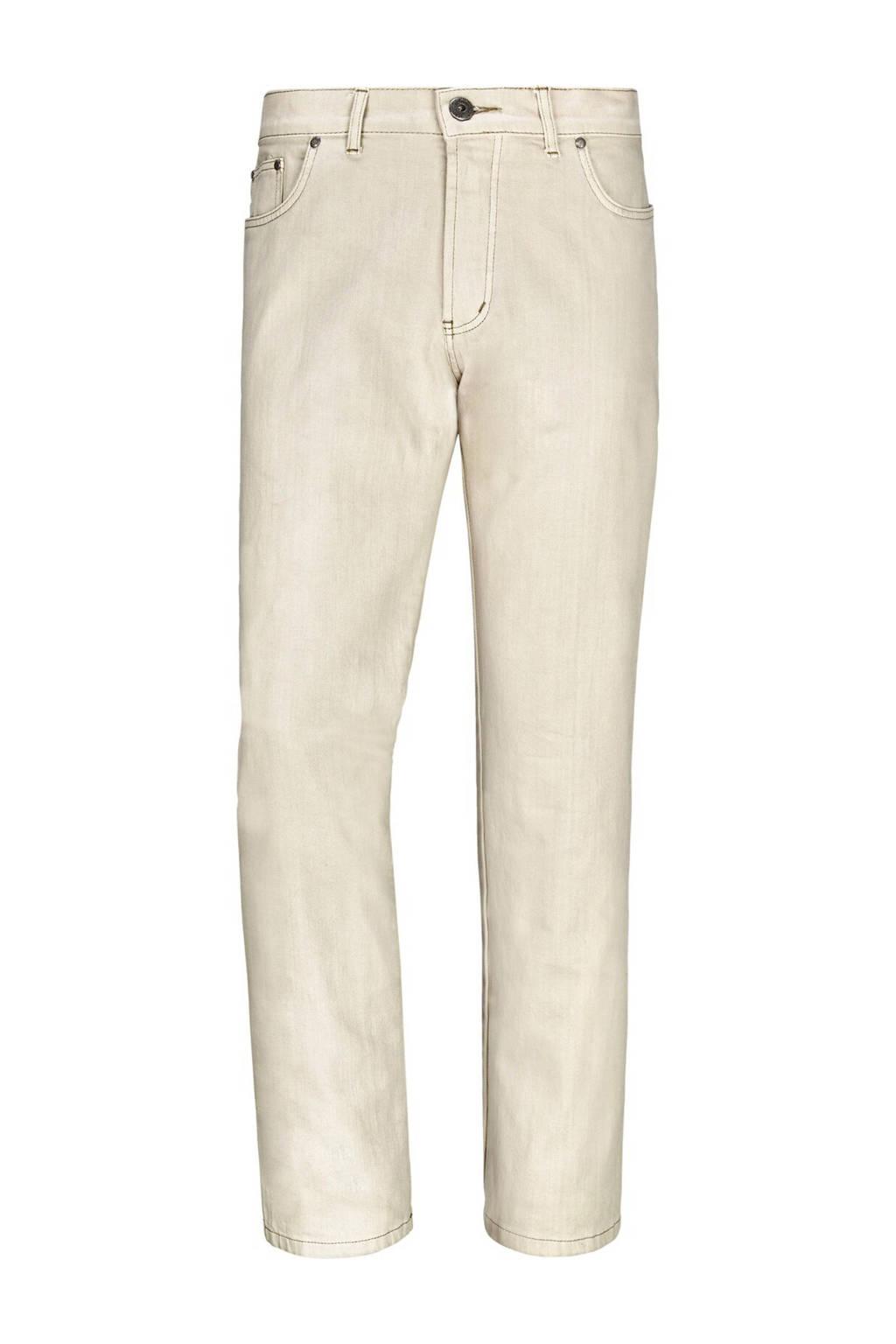 Jan Vanderstorm regular fit broek Plus Size GUNNAR ecru, Ecru