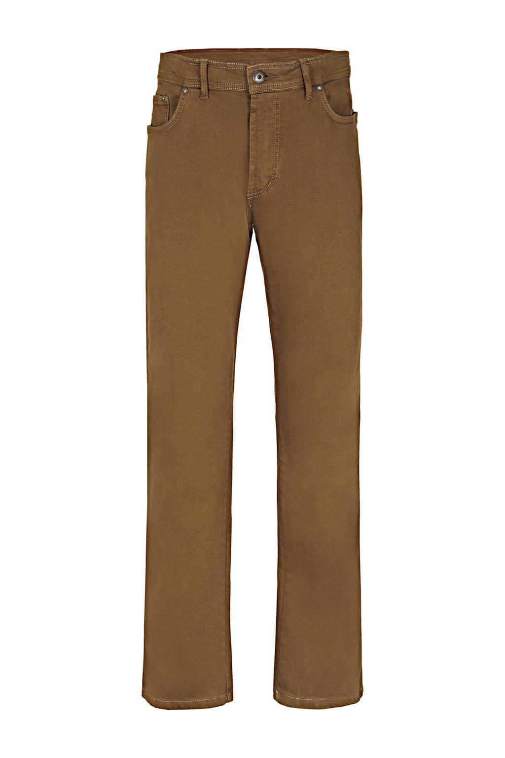 Jan Vanderstorm loose fit broek Plus Size Gunnar camel, Camel
