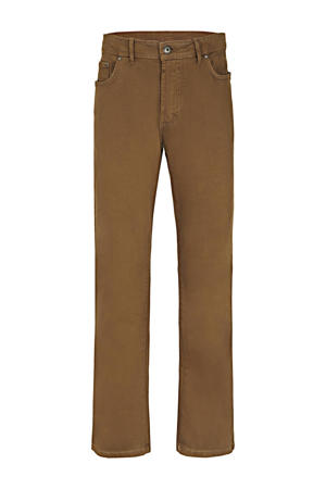 loose fit broek Plus Size Gunnar camel
