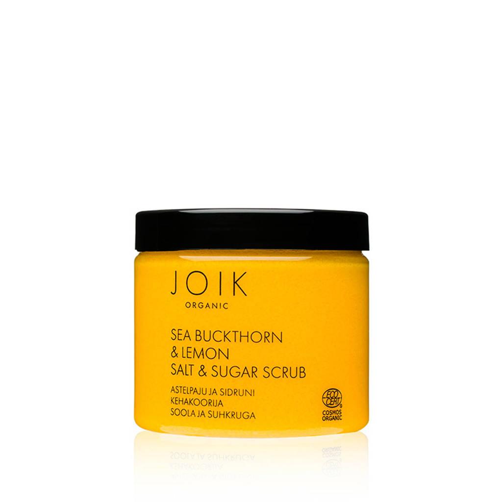JOIK Sea Buckthorn & Lemon Sugar & Salt scrub - 220gr