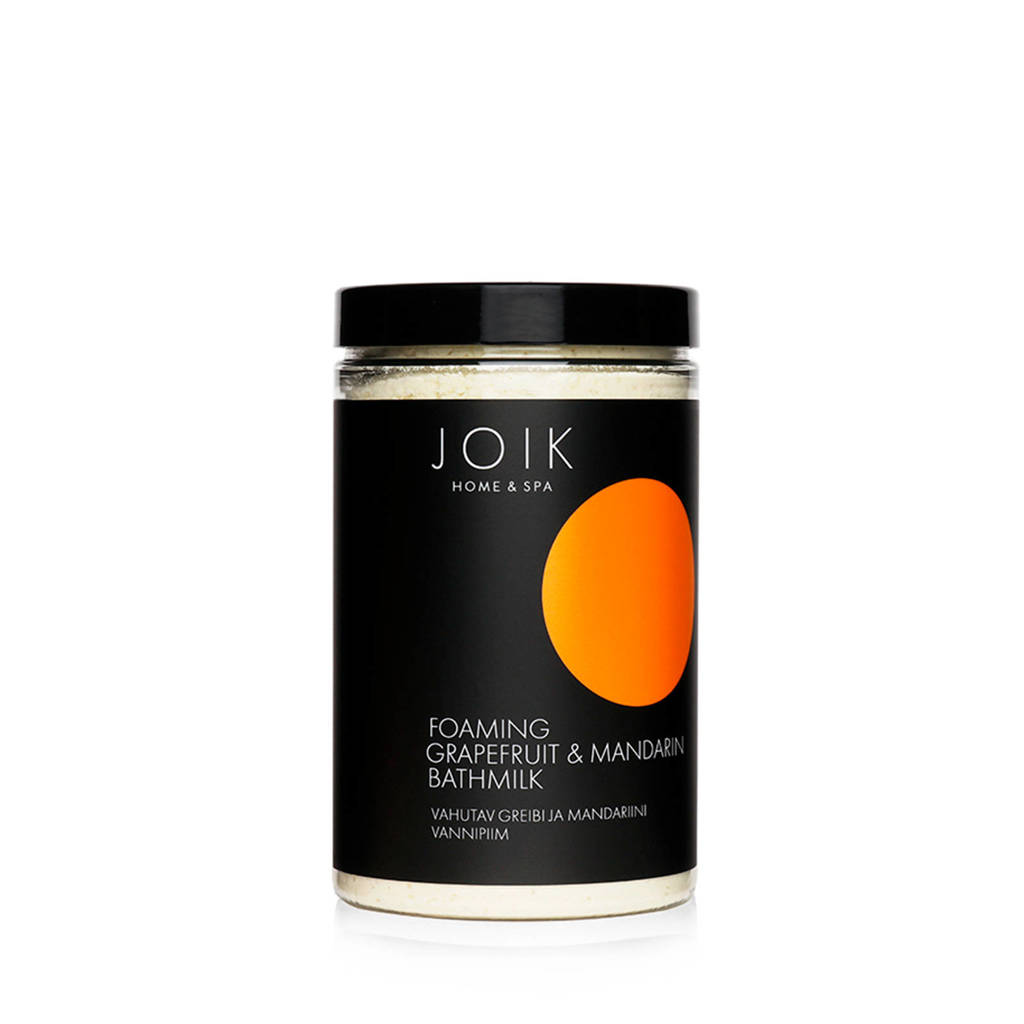 JOIK Foaming Grapefruit & Mandarin bath milk - 400gr.