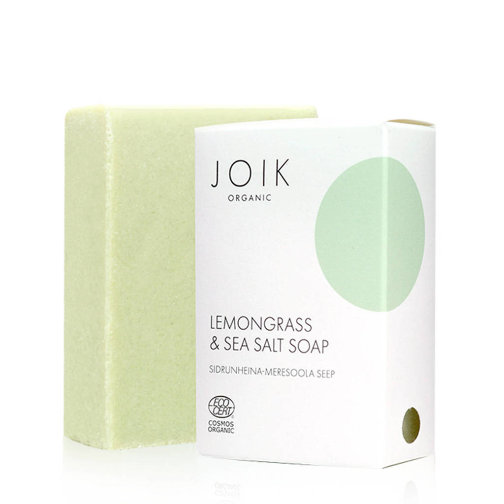 JOIK Lemongrass Sea Salt zeep - 100gr