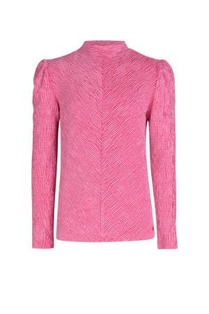 velvet top Mara roze