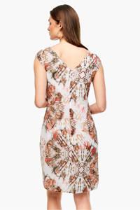 s.Oliver BLACK LABEL jurk met all over print wit, Wit
